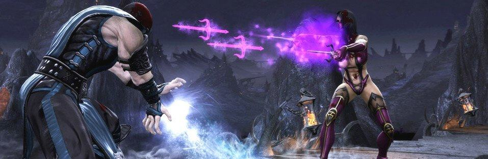Mortal Kombat - Sub Zero versus Mileena