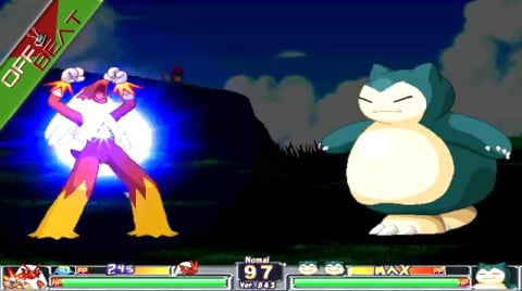 The 'love child' of Pokémon and Street Fighter.