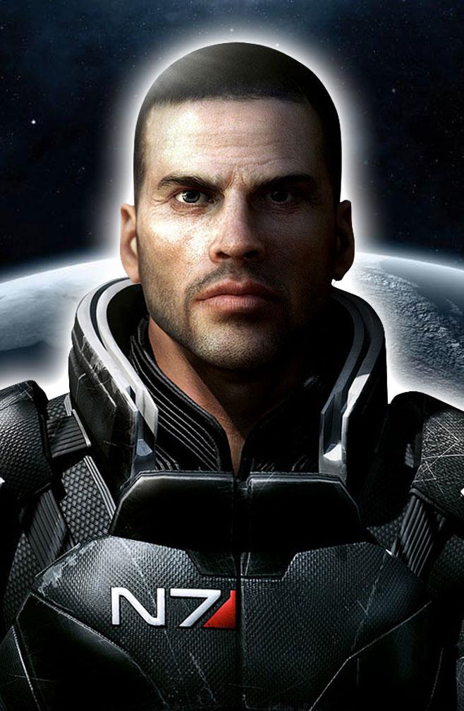 Mass Effect's Commander Shepard