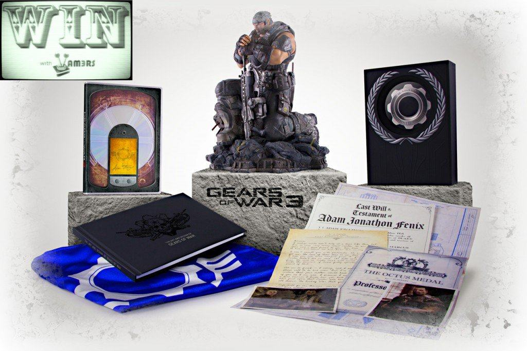 Win With Vamers: Gears of War 3 Epic Edition