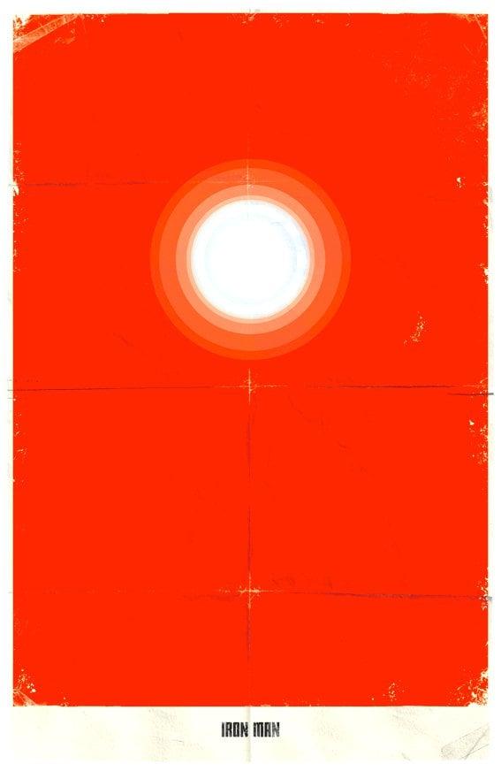 Vamers - Marko Manev - Minimalist Marvel Posters - Iron Man