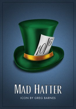 Vamers - Artistry - Batman Icons - Mad Hatter