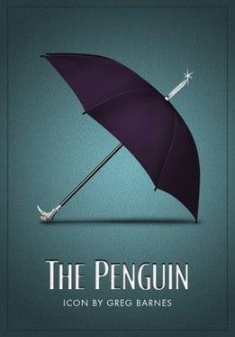 Vamers - Artistry - Batman Icons - The Penguin