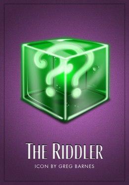 Vamers - Artistry - Batman Icons - The Riddler