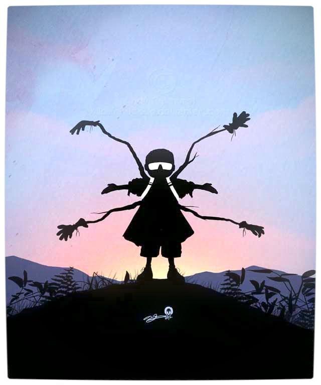 Vamers - Artistry - Superhero Kids Silhouettes - Doc. Ok. Kid