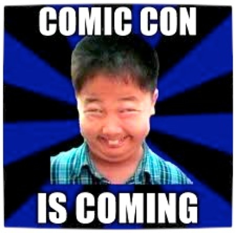 Vamers - FYI - Humour - Comic Con South Africa is Coming meme