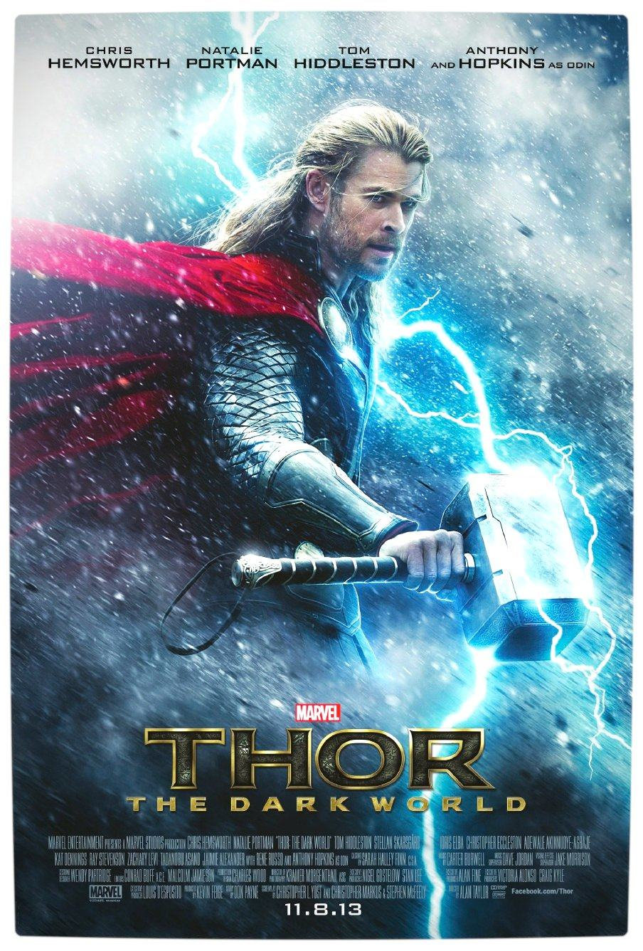 Vamers - Thor The Dark World - Official Poster - 8 November  2013