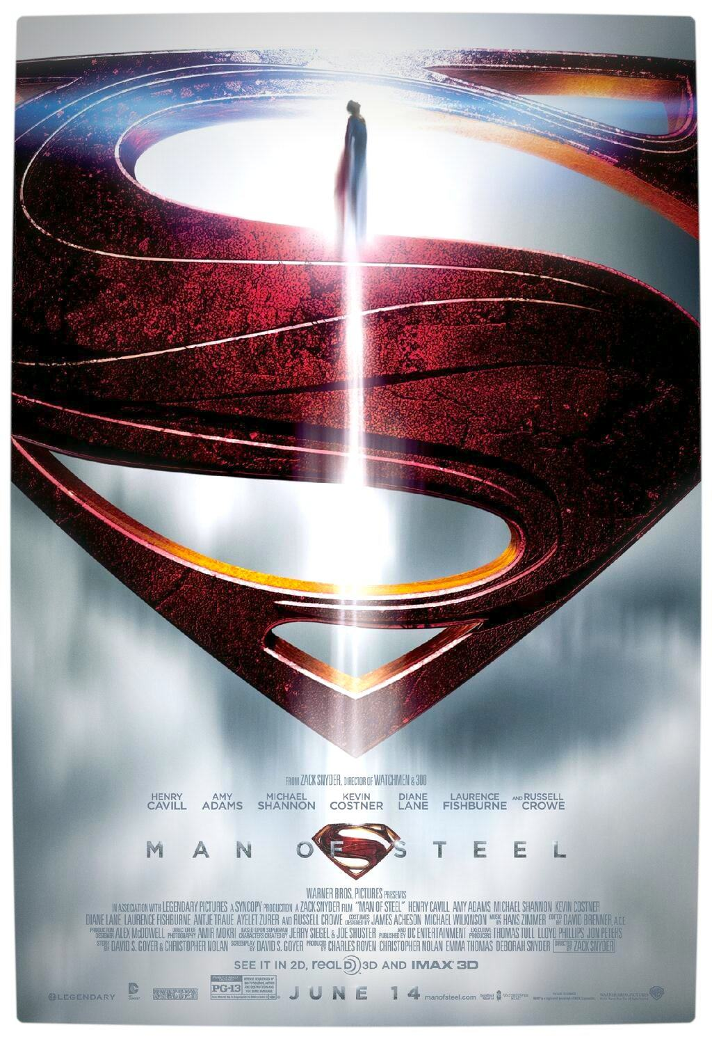Vamers - FYI - Movies - New Man of Steel Poster
