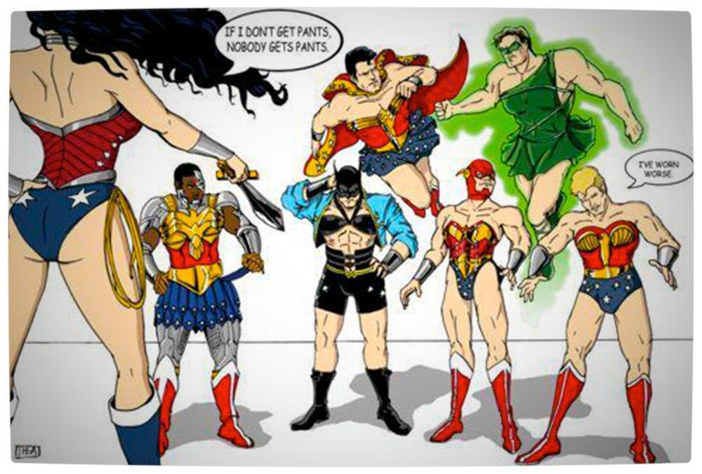Vamers - Artistry - Super Women's Day 2013 - Wonder Woman's New Skirt Rule