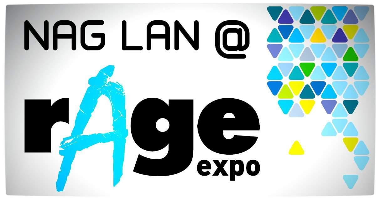 Vamers - FYI - Events - NAG Lan at rAge 2013 - Pamphlet Banner