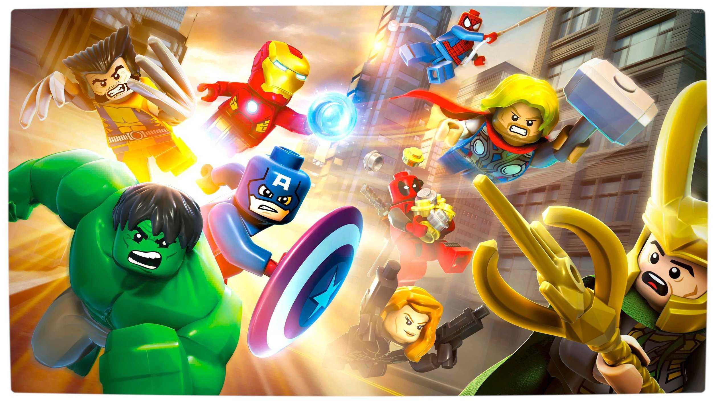Lego marvel super heroes heroes and villains official - Logo super heros ...