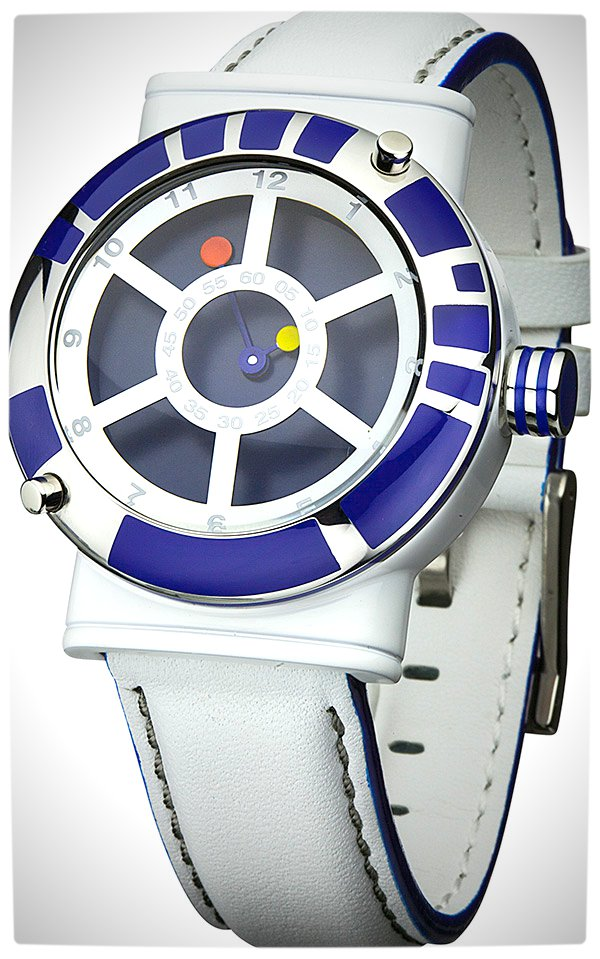 Vamers - SUATMM - Star Wars Collector's Watches - It Is Time to Use the Force - R2-D2 Time Piece