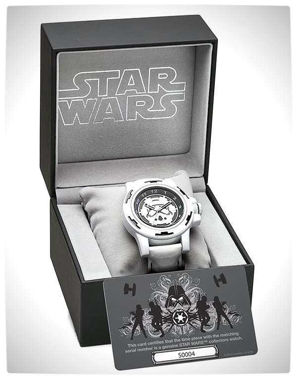 Vamers - SUATMM - Star Wars Collector's Watches - It Is Time to Use the Force - Stormtroopers Time Piece Box