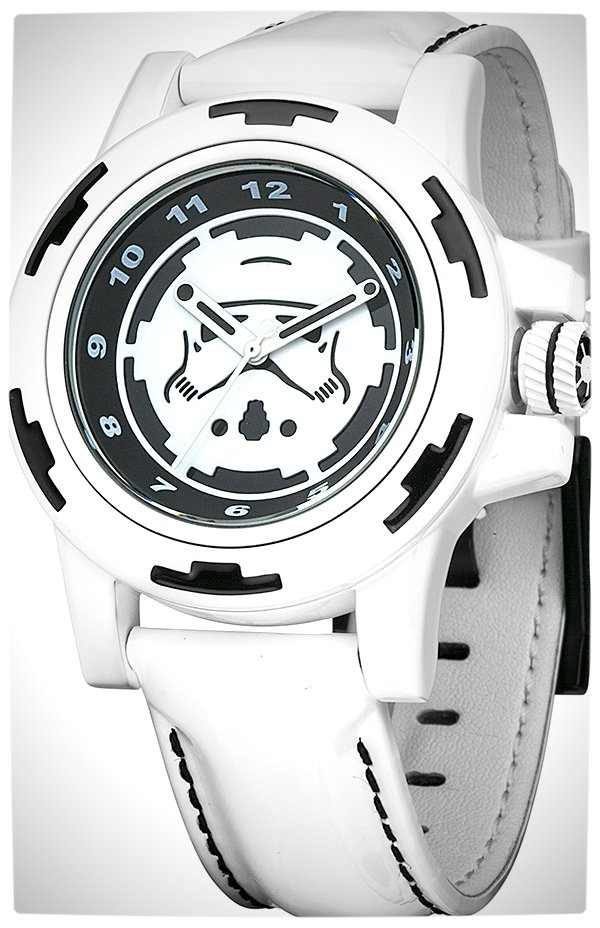 Vamers - SUATMM - Star Wars Collector's Watches - It Is Time to Use the Force - Stormtroopers Time Piece