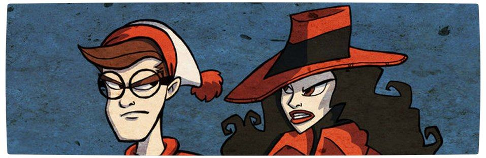 Vamers - Artistry - Carmen Sandiego and Where's Wally - A Perfectly Unfindable Match - Banner