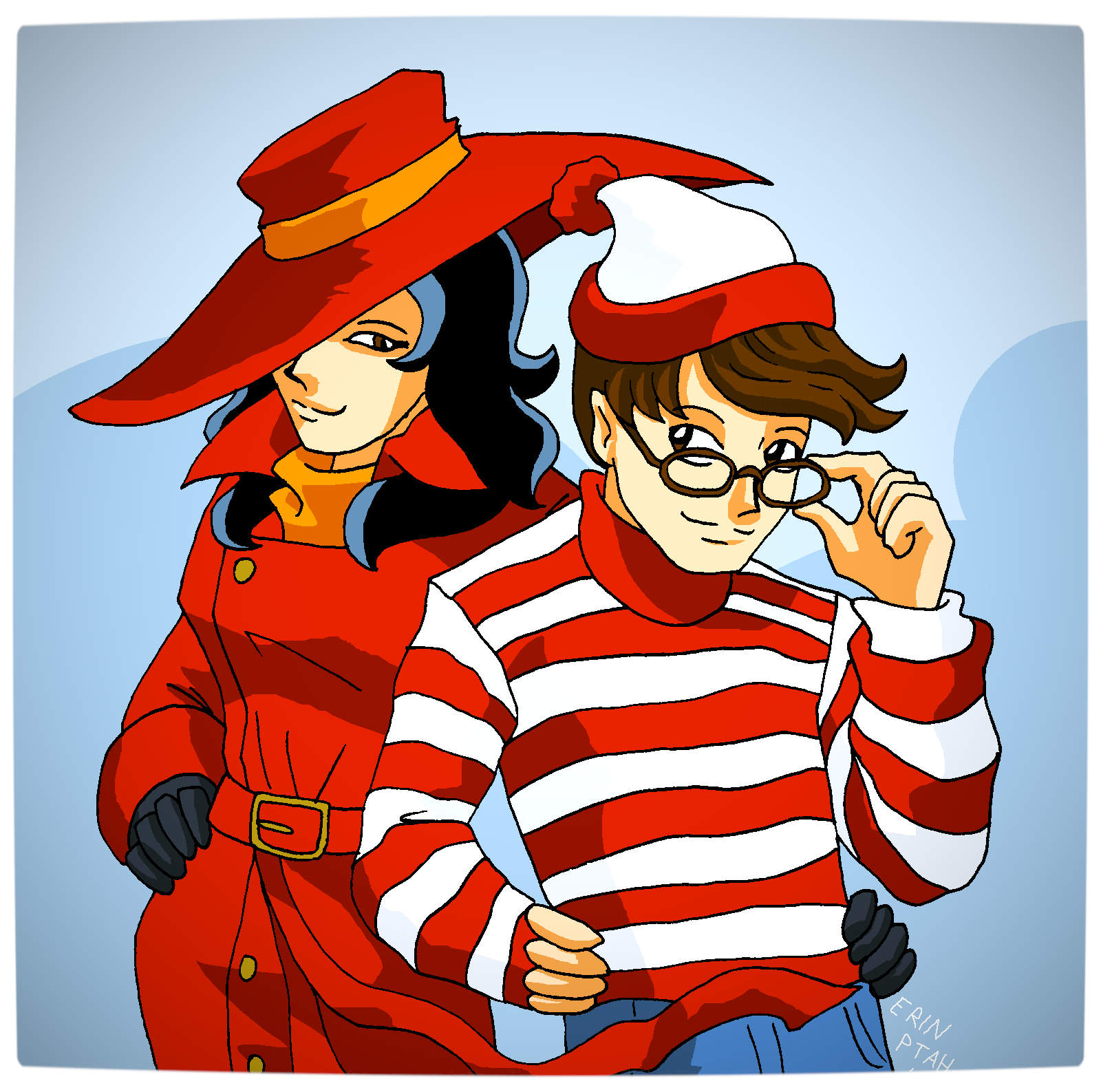 Vamers - Artistry - Carmen Sandiego and Where's Wally - A Perfectly Unfindable Match - Lose Myself with You by Erin Ptah