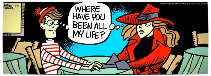 Vamers - Artistry - Carmen Sandiego and Where's Wally - A Perfectly Unfindable Match - Where have you been all my life