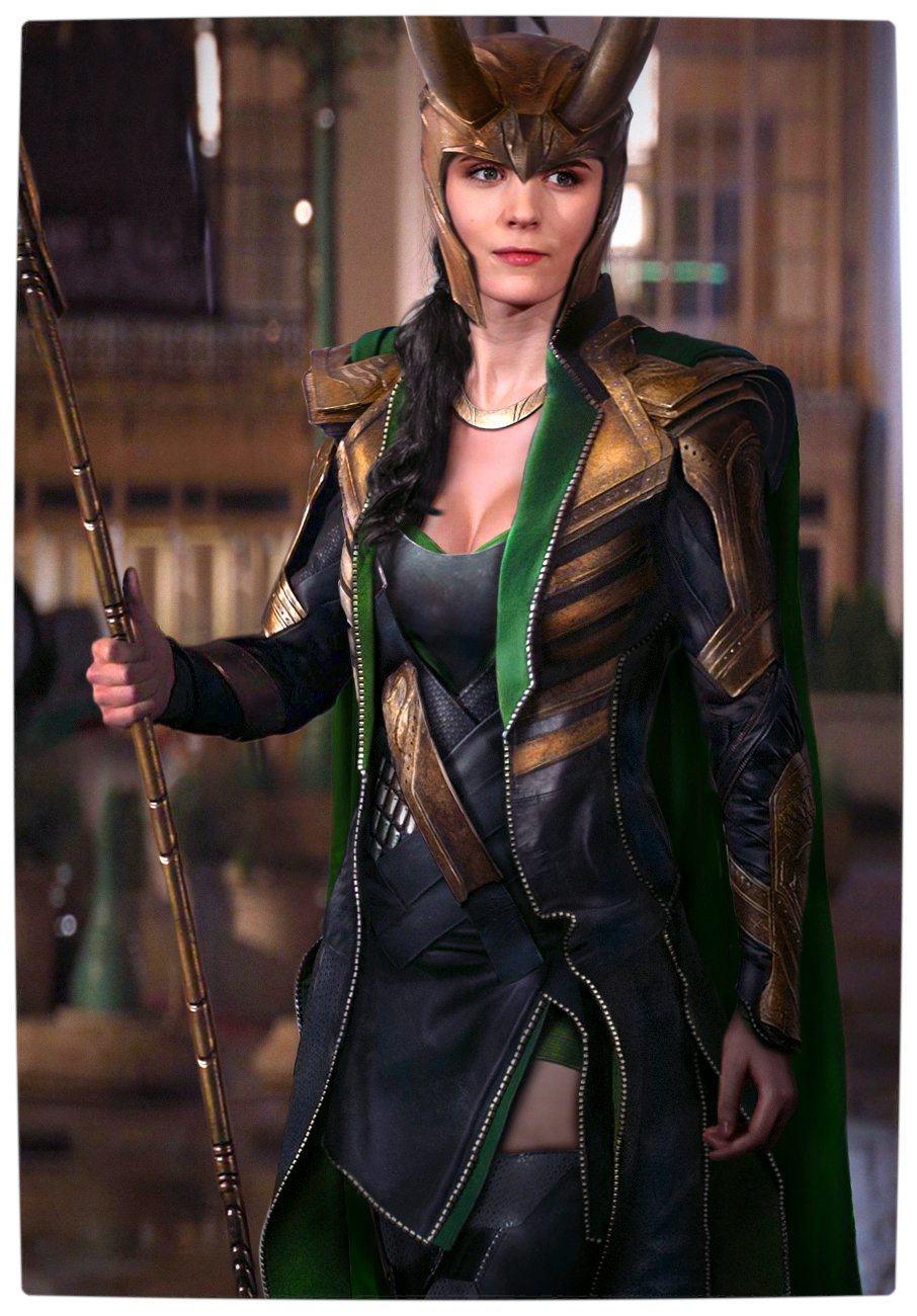 Vamers - Artistry - Female Avengers - See the Superheroes Recast as Women - Rooney Mara as Lokia