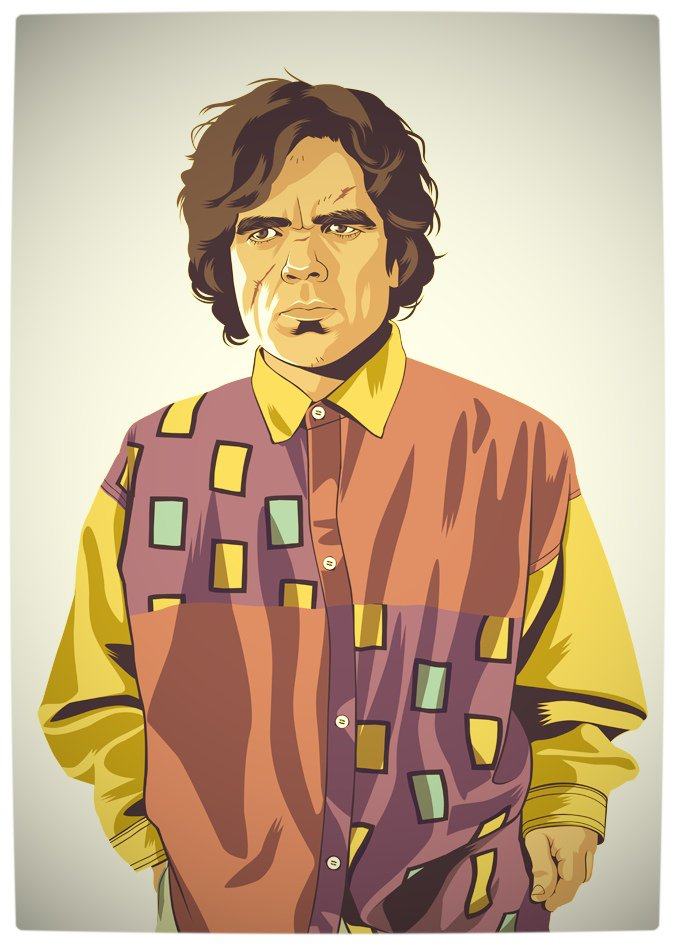 Vamers - Artistry - Game of Thrones meets Grand Theft Auto - Game of Thrones 80s and 90s Mash-up by Mike Wrobel - Tyrion Lannister
