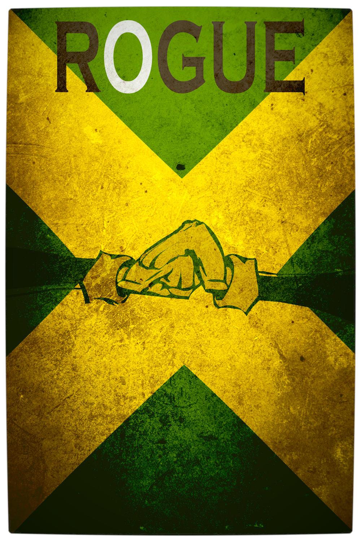 Vamers - Artistry - Minimalist X-Men Poster Art - Rogue