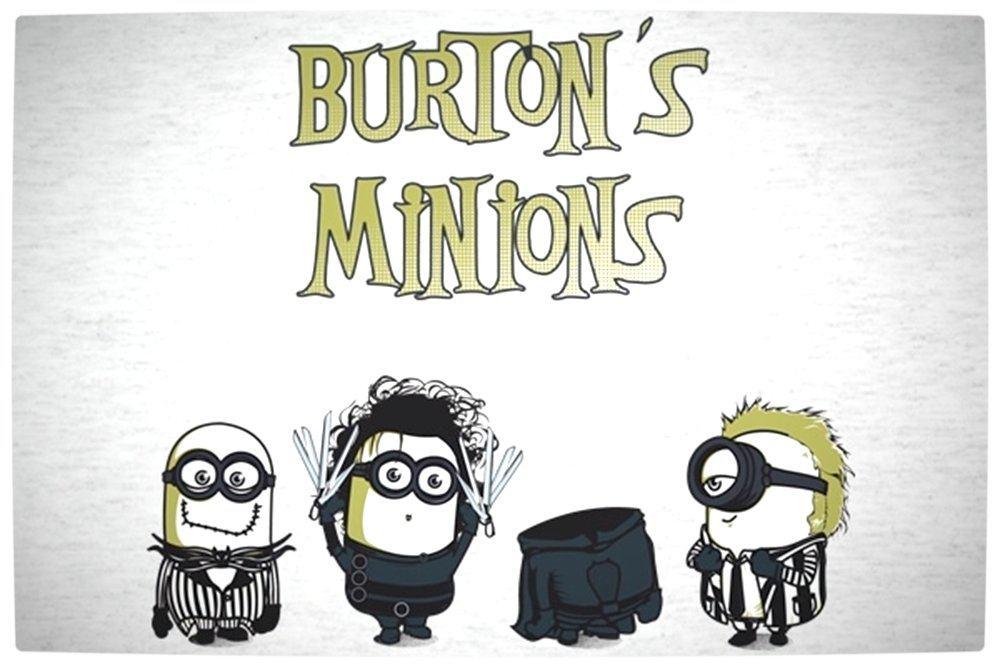 Vamers - Artistry - Tim Burton's Minions