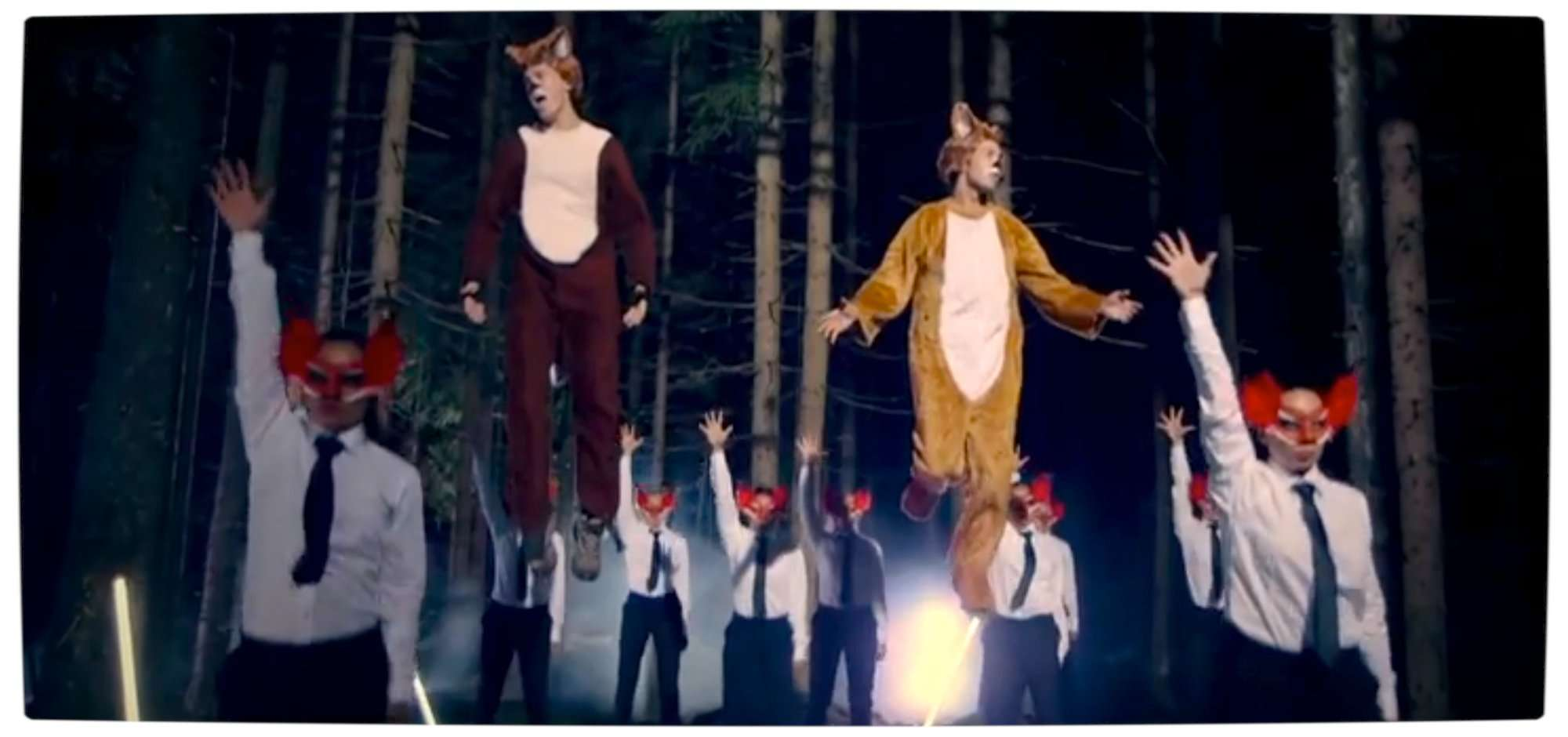 Vamers - FIY - Ermahgerd - What does the Fox say - Ylvis has the answer - Flying Foxes