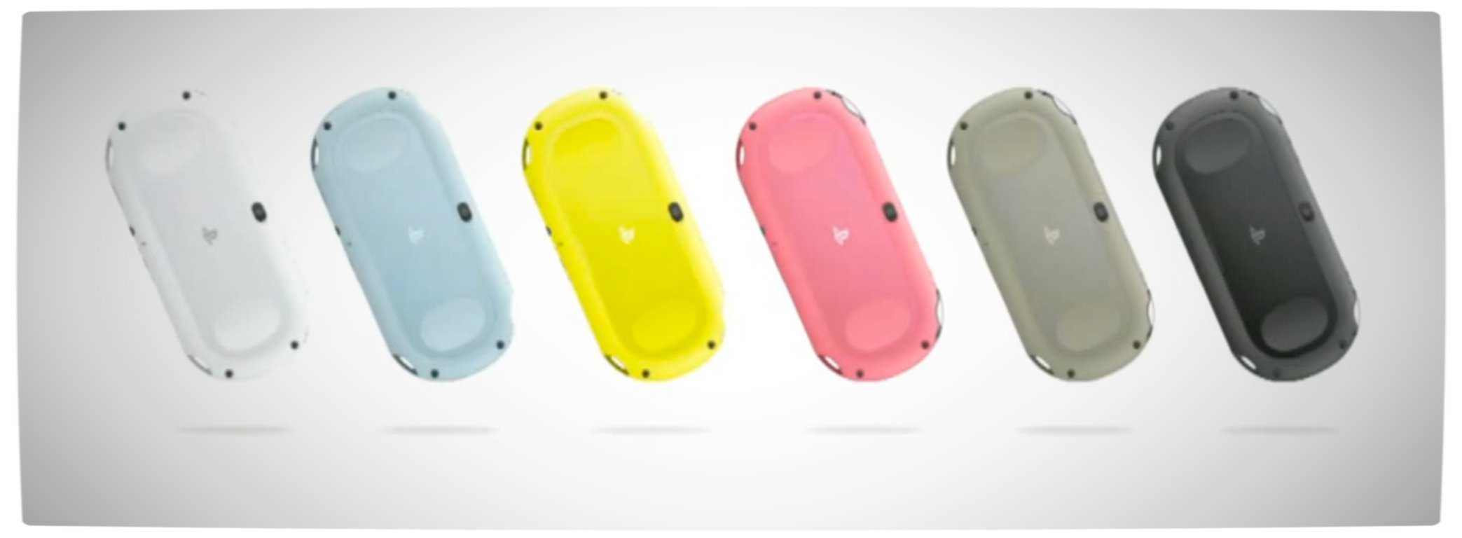 Vamers - FYI - Video Games - PS Vita 2000 Announced - Different Coloured Units