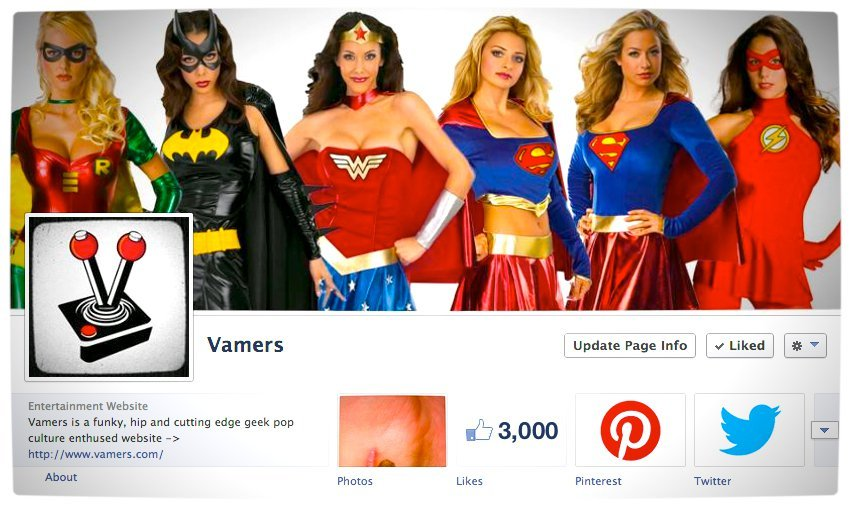 Vamers - Growth - Facebook 3000 Likes - Proper
