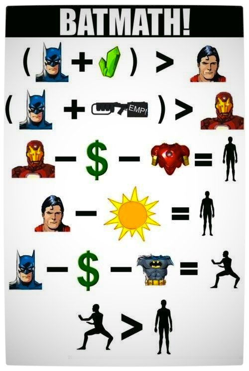 Vamers - Humour - Batmath