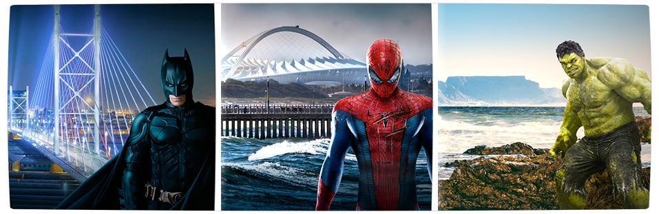 Vamers - FYI - TV - Superheroes Help Brighten South African Cities - Banner