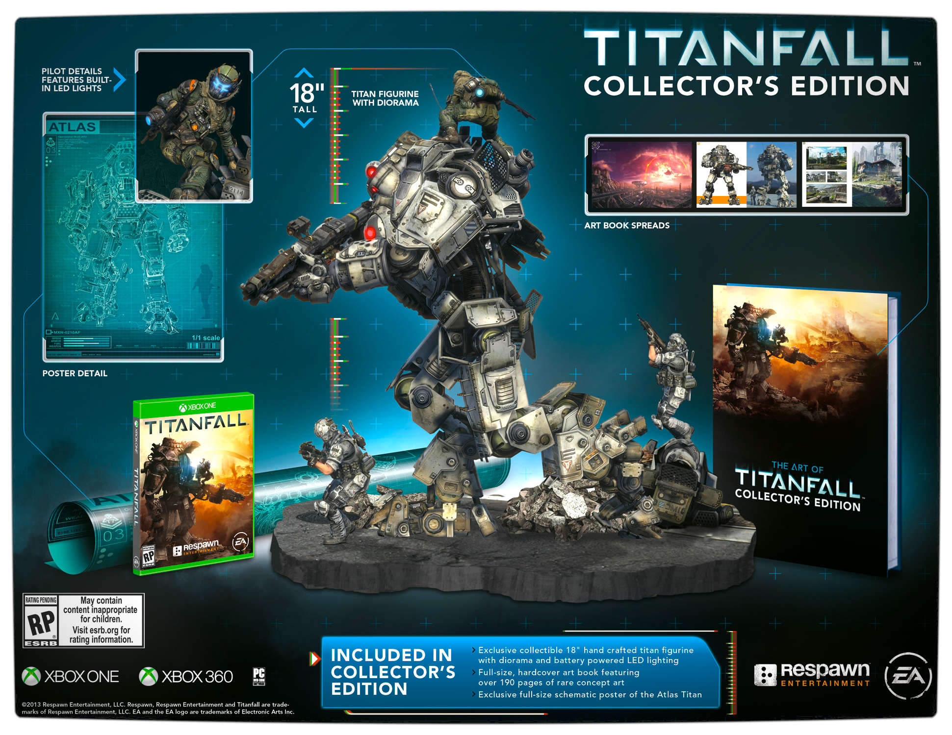 Vamers - Gaming - Titanfall Collectors Edition Detailed - Details