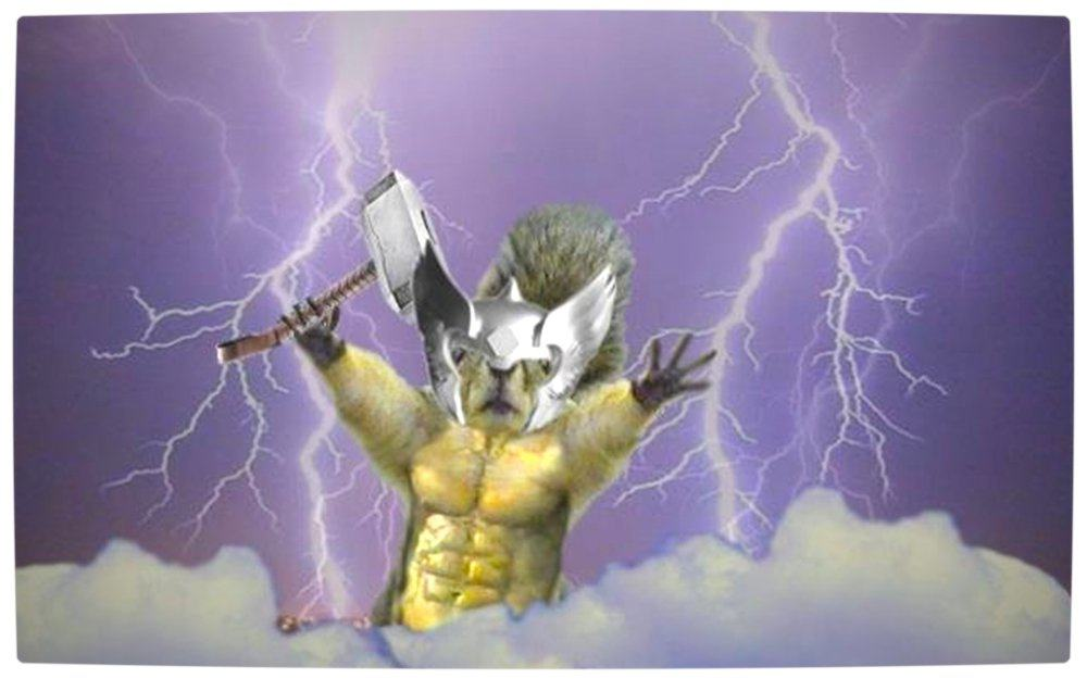 Vamers - Humour - It's Thorsday Hammer Time with Thorrel - Lightning Abs