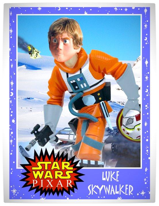 Vamers - Artistry - Star Wars as if it had been created by Pixar - Luke Skywalker