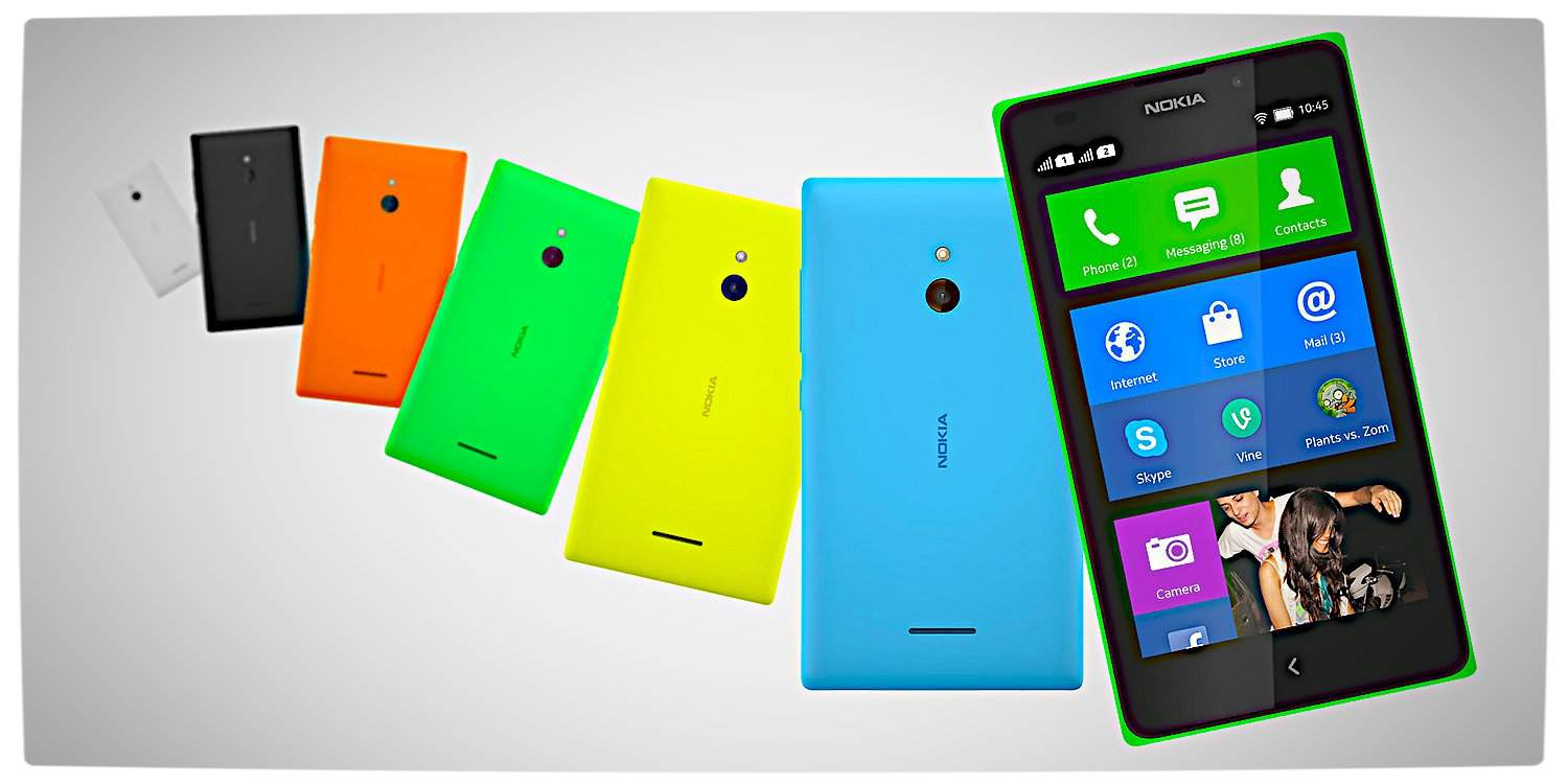 Vamers - FYI - Gadgetology - Android meets Windows in the Nokia X - Nokia XL Spiral