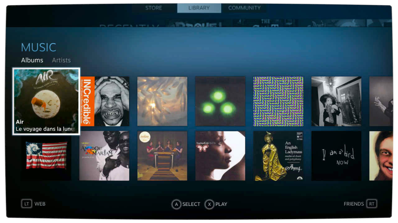 Vamers - FYI - Gadgetology - Valve Reveals Steam Music - Album Sort