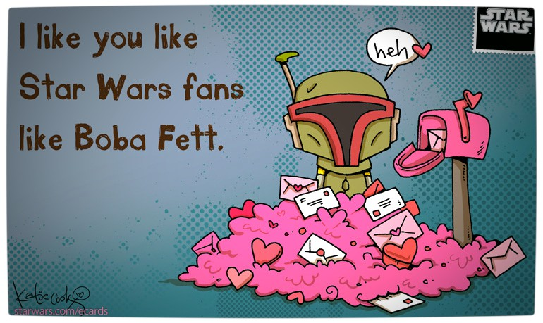 Say 'I Love You' with these Star Wars Valentines e-Cards