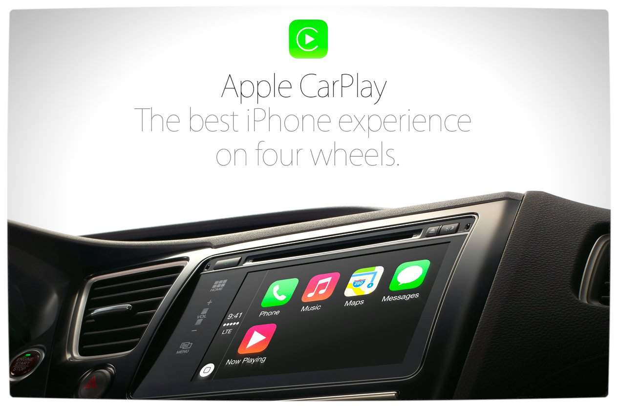 apple carplay brings the ios experience to your car vamers. Black Bedroom Furniture Sets. Home Design Ideas