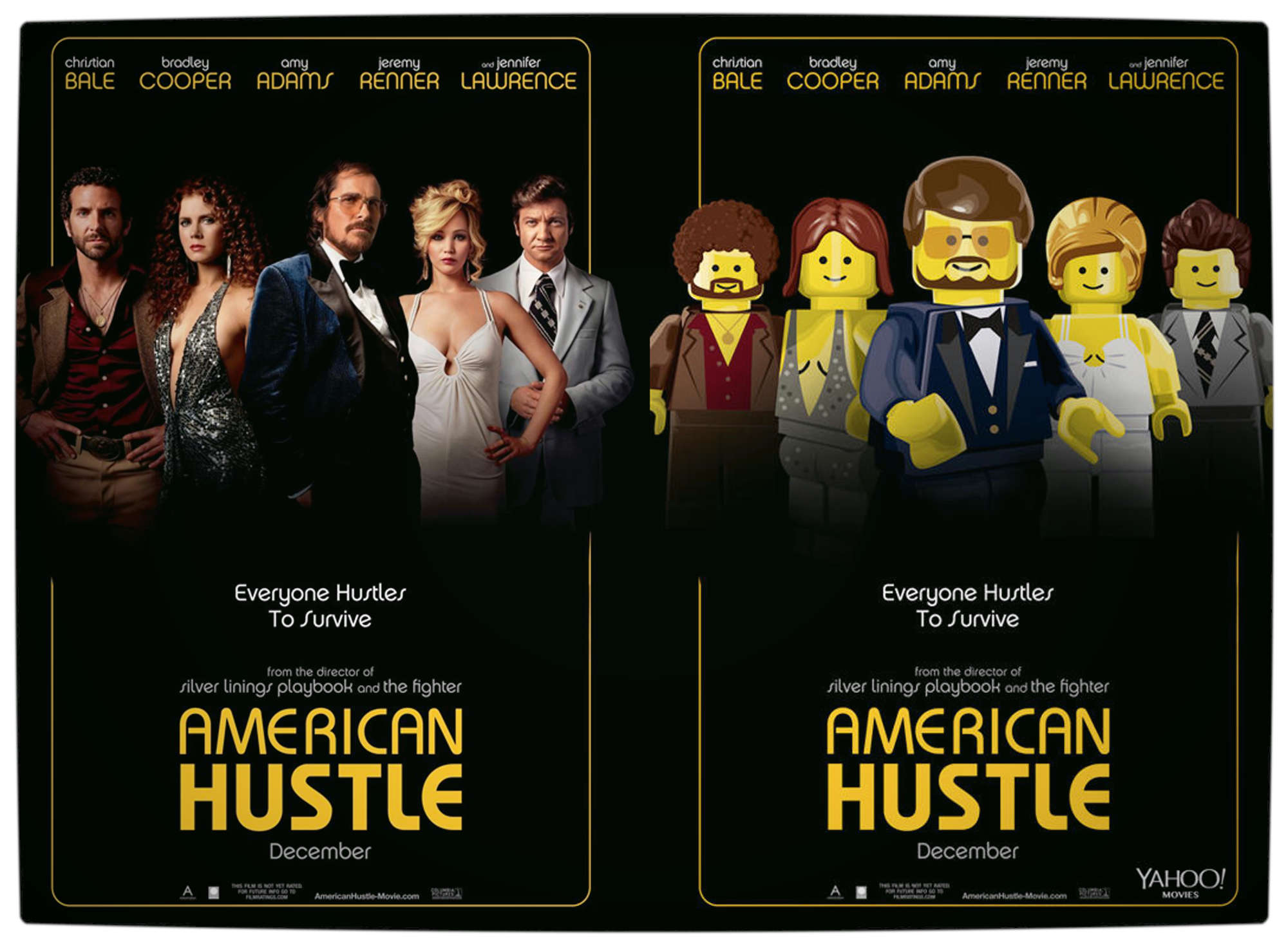 Vamers - Geekosphere - Artistry - 2014's Best Picture Oscar Nominees Recreated as Lego Movies - American Hustle - Final