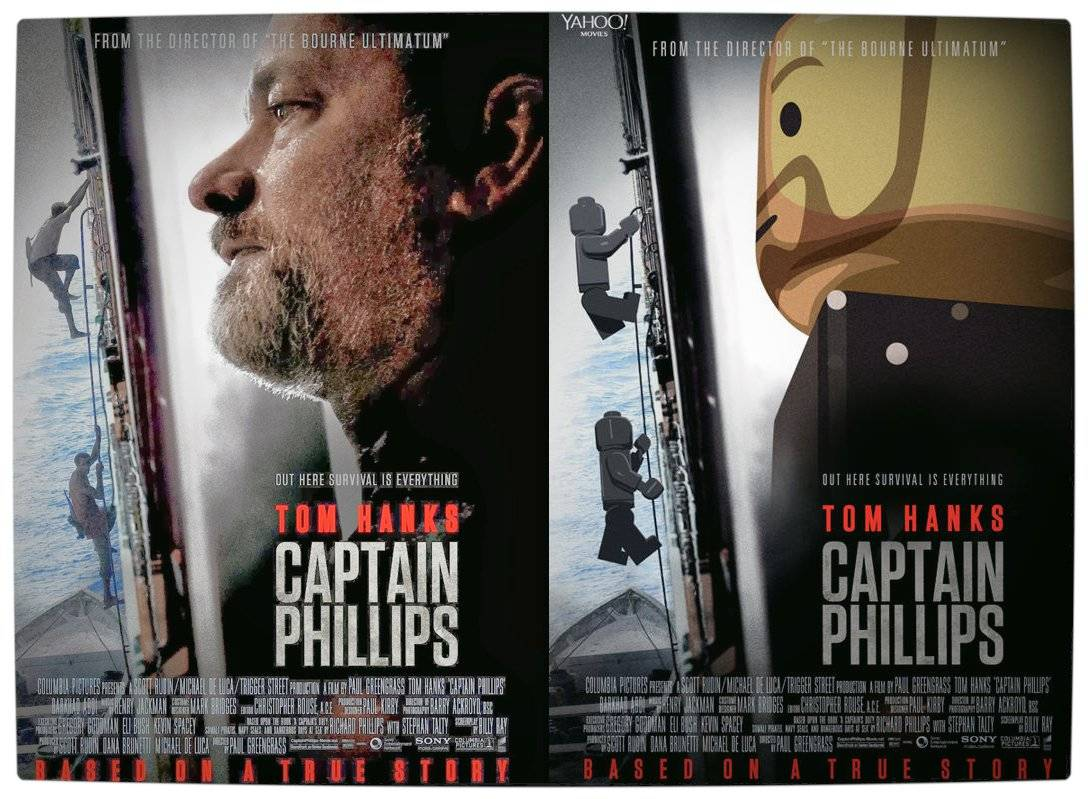Vamers - Geekosphere - Artistry - 2014's Best Picture Oscar Nominees Recreated as Lego Movies - Captain Phillips - Final