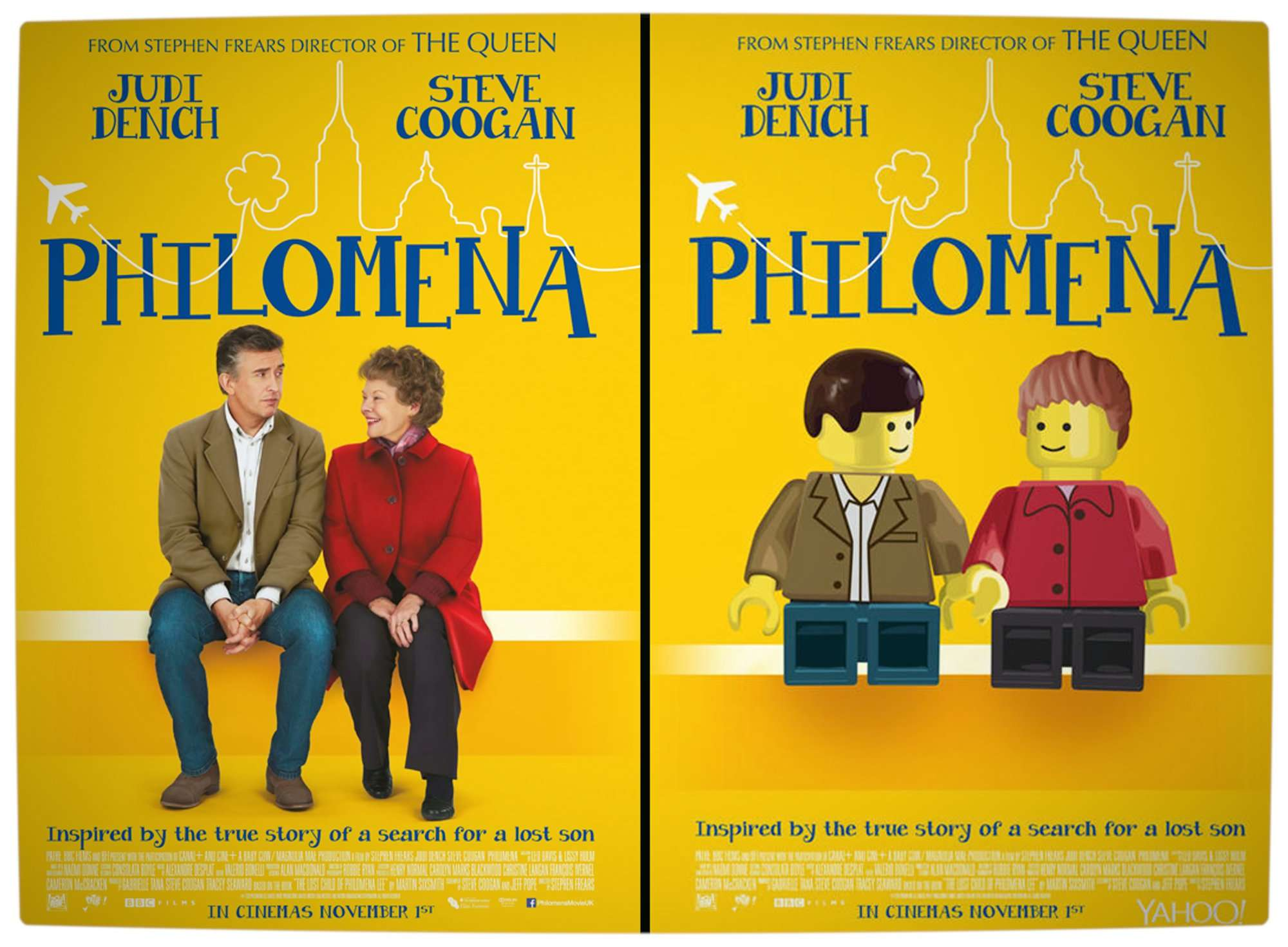 Vamers - Geekosphere - Artistry - 2014's Best Picture Oscar Nominees Recreated as Lego Movies - Philomena - Final
