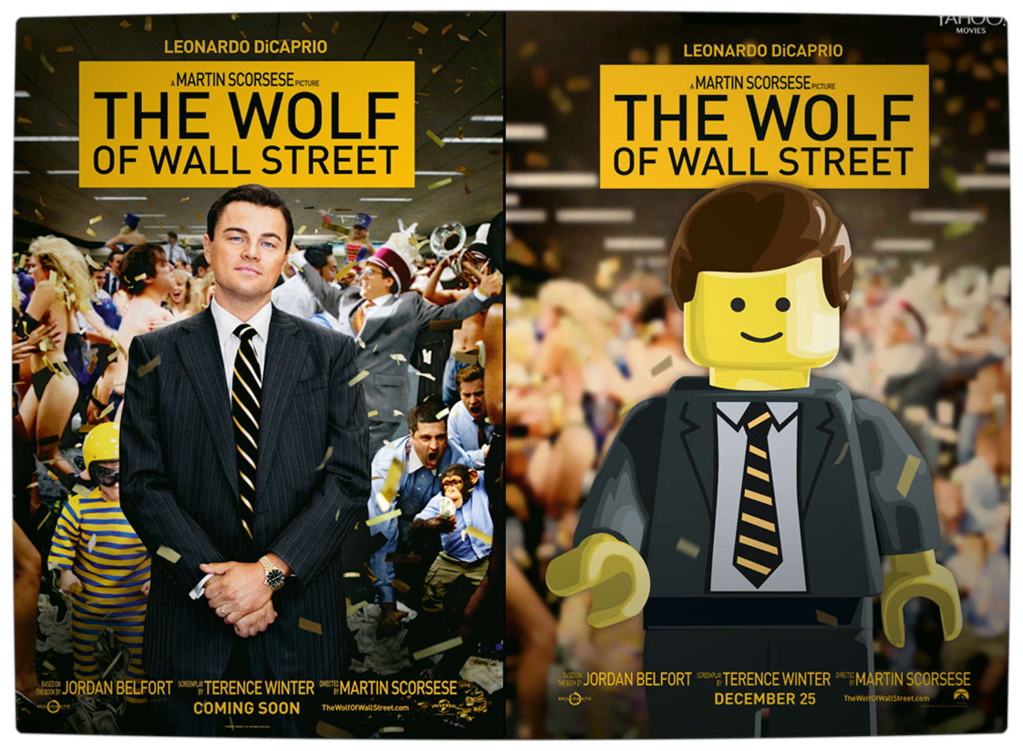 Vamers - Geekosphere - Artistry - 2014's Best Picture Oscar Nominees Recreated as Lego Movies - The Wold of Wall Street - Final