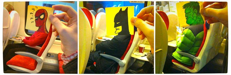 Vamers - Artistry - Illustrator Turns Fellow Commuters Into Cartoon Characters - October Jones - Joe Butcher - Banner