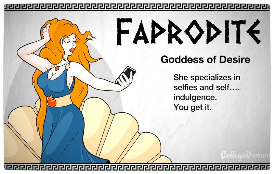 Vamers - Geekosphere - The Gods and Goddesses of the Internet Pantheon - Faprodite