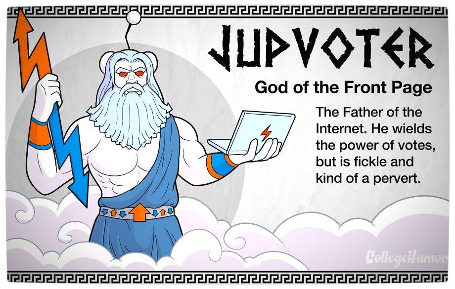 Vamers - Geekosphere - The Gods and Goddesses of the Internet Pantheon - Jupvoter