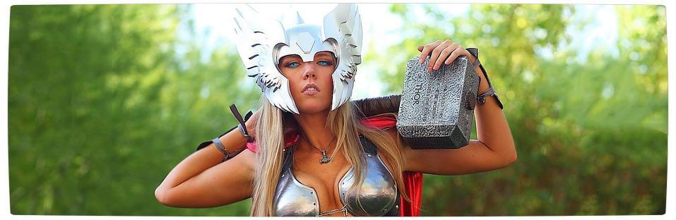 Vamers - Geekosphere - Thorsday - Toni Darling Gender-Bends Thorsday - Banner