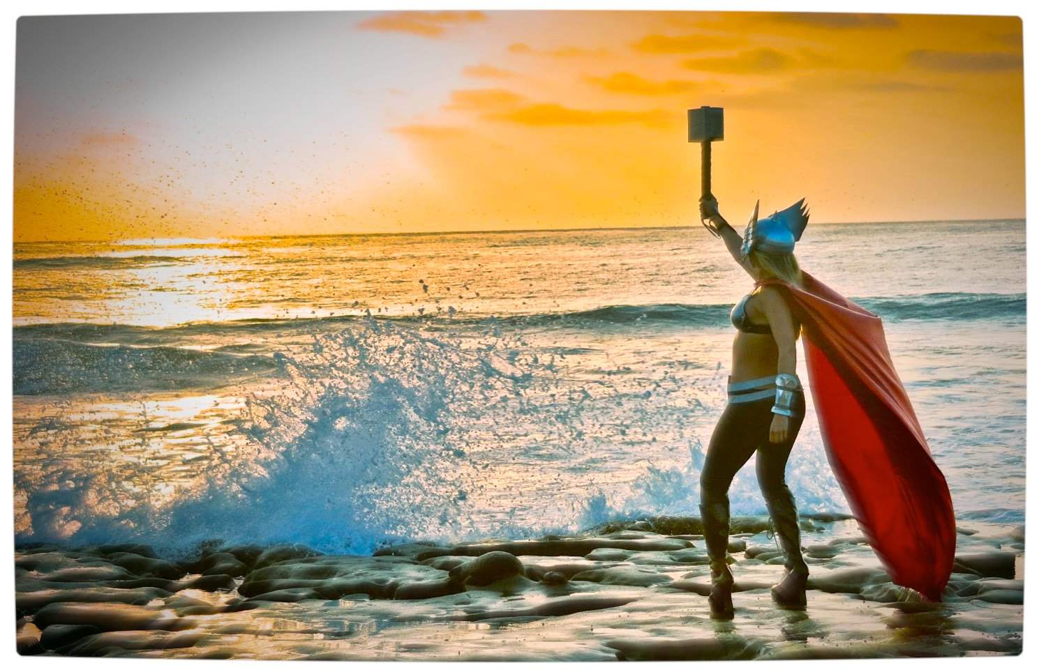 Vamers - Geekosphere - Thorsday - Toni Darling Gender-Bends Thorsday - Toni Darling as Thor 12