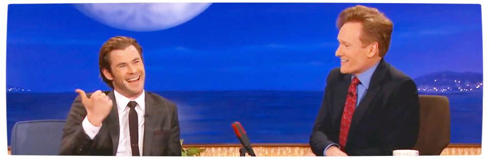 Vamers - Humour - Chris Hemsworth Tells Us the Most Popular Thorsday Joke - Banner