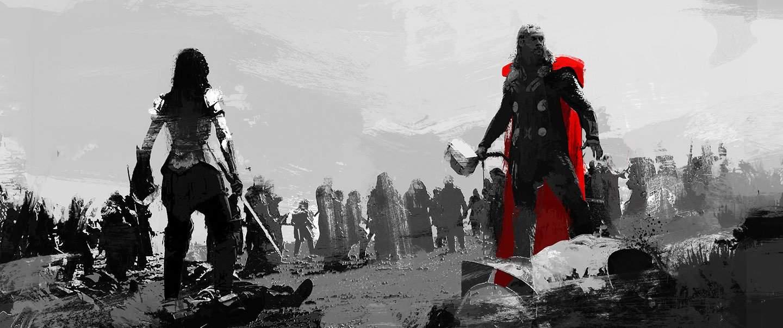 Hasil gambar untuk The Dark World Concept Art Inspired By Game Of Thrones