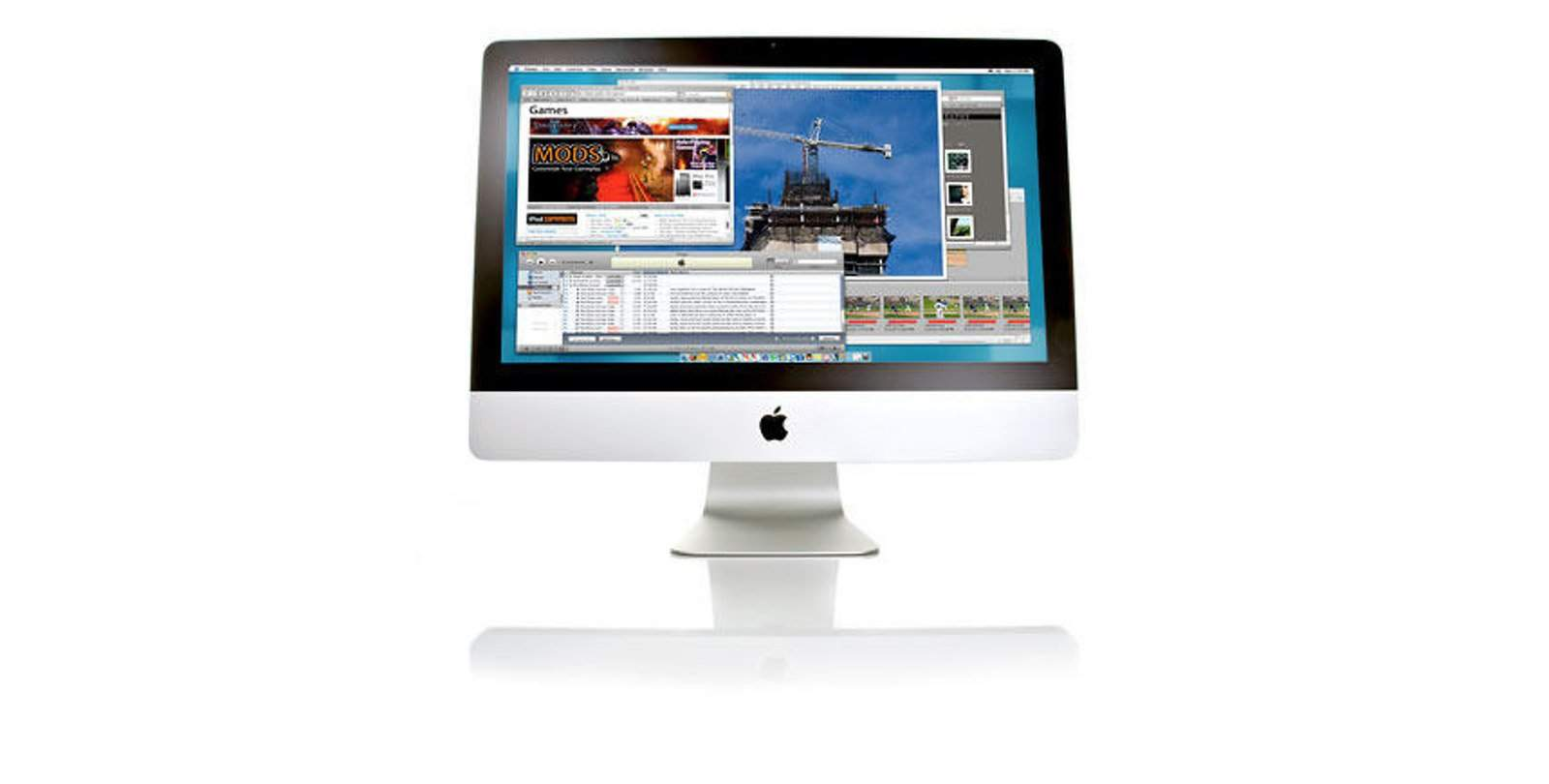 new 21 5 inch imac lowers cost barrier for potential mac. Black Bedroom Furniture Sets. Home Design Ideas