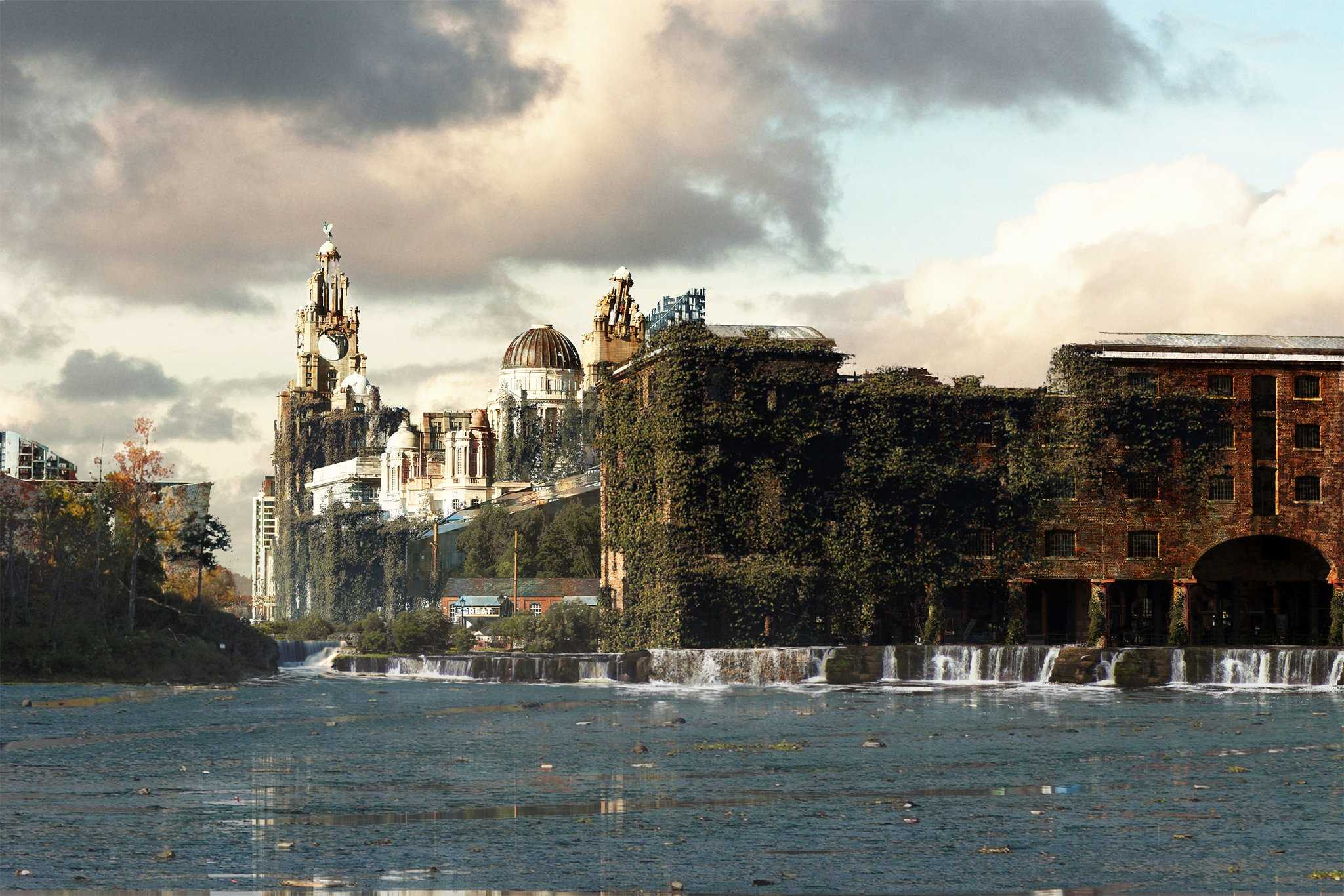 Vamers - Artistry - The World of The Last of Us- Envisioning a Post Apocalyptic Future - Albert Docks Liverpool Apocalypse